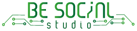Be Social Studio Logo